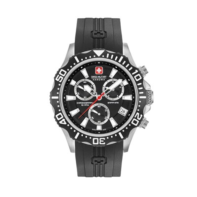 Swiss Military by Hanowa Gent's Patrol Chronograph Watch with Silicone Strap