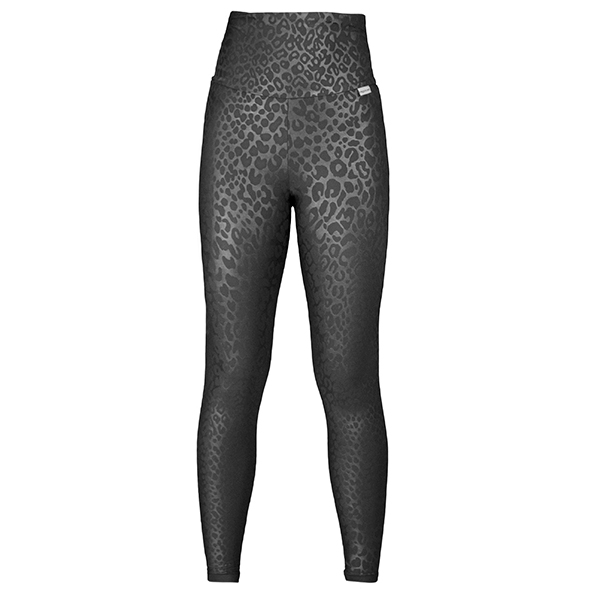 Proskins Intelligent Slim Plus Range High Waisted Full Length Full Luxe Leggings Black