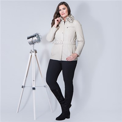 Lakeland Leather Tirril Belted Leather Coat