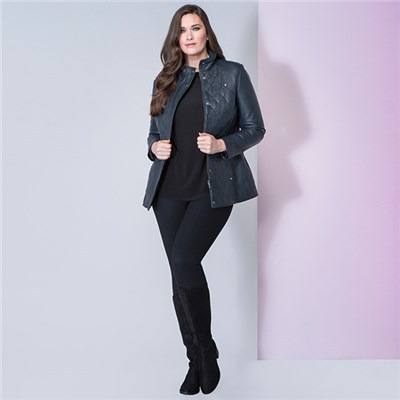 Lakeland Leather Coniston Quilted Leather Coat