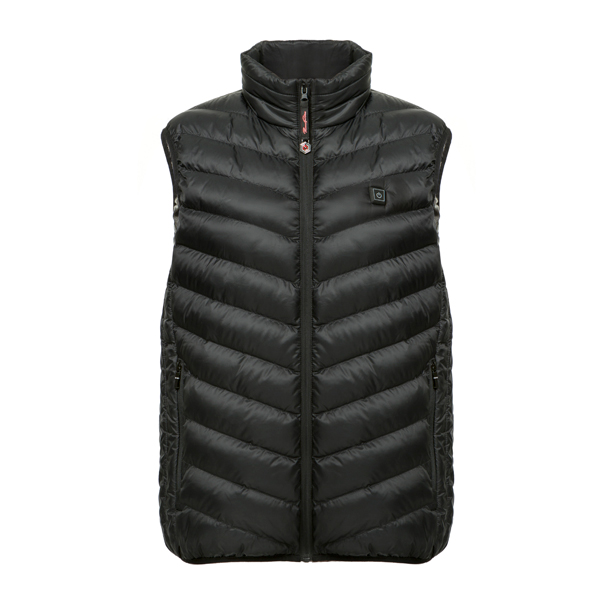 ThermoFusion Heated Gilet with 5000mAh Battery Pack Black