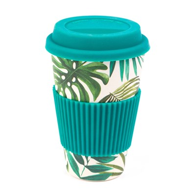 Cambridge Polynesia 16oz Bamboo Sippy Mug