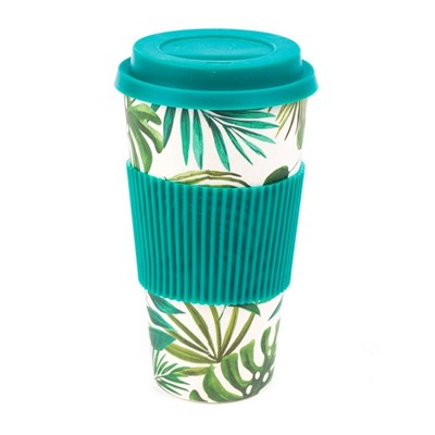 Cambridge Polynesia 20oz Bamboo Sippy Mug