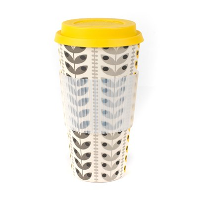 Cambridge Retro Daisy v2 20oz Bamboo Sippy Mug