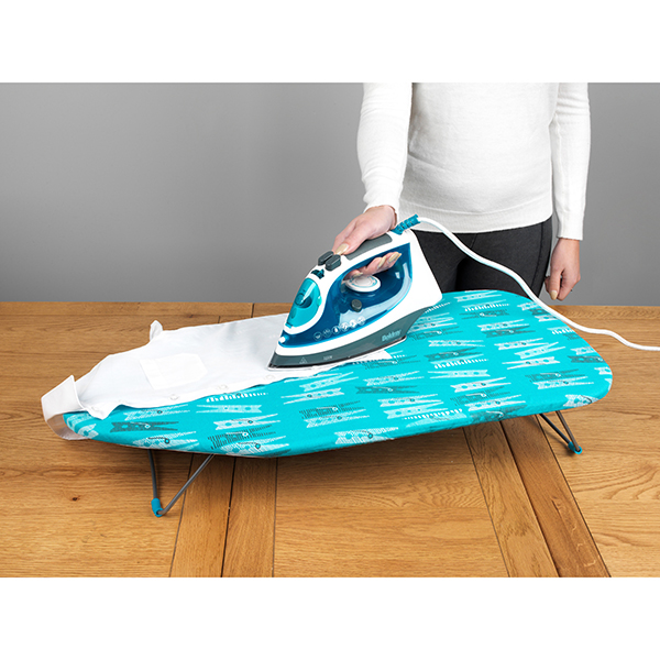 Beldray 76cm Table Top Ironing Board Peg Print