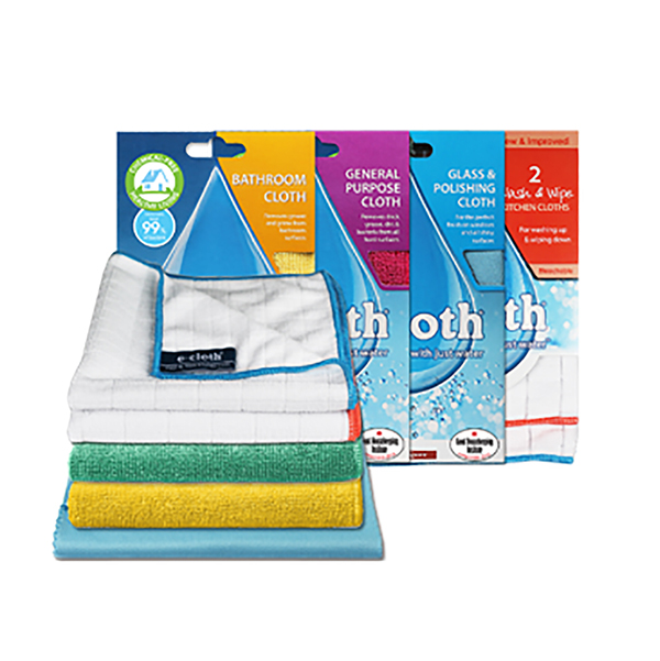 E-Cloth Kitchen and Bathroom Set No Colour