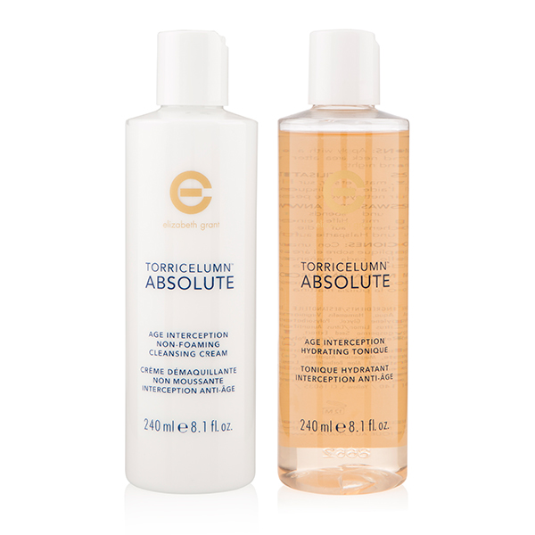 Elizabeth Grant Torricelumn Absolute Age Cleansing Cream 240ml and Tonique 240ml No Colour