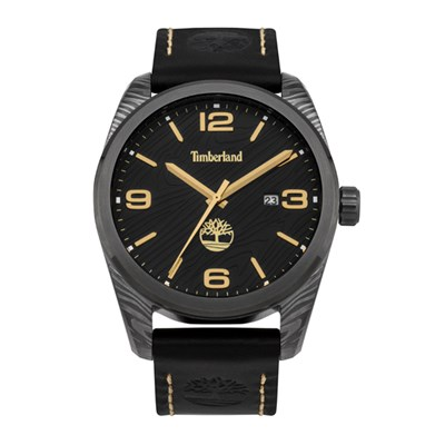 Timberland Gent's Jaffrey Watch with Genuine Leather Strap
