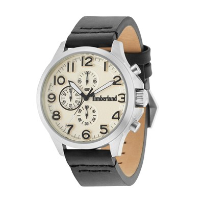 Timberland Gent's Brenton Watch with Genuine Leather Strap