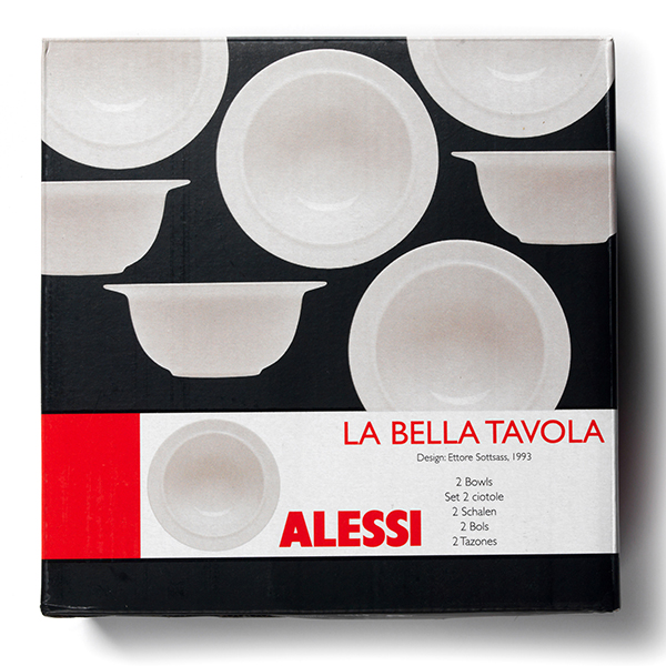 Alessi La Bella Tavola 36pc Crockery Collection Plus 14in Oval