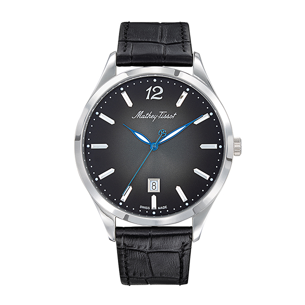 25% off Mathey-Tissot Gent's Swiss Made Urban Watch with Genuine Leather Strap