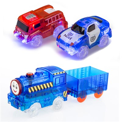 Turbo Trax Extra Car and Train Kit