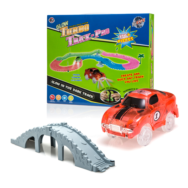 Turbo Trax Pro (Twin Pack) with Bridge Accessory Kit Orange