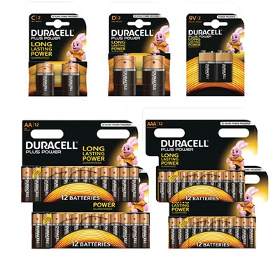 Duracell Xmas Battery Pack - 24AA, 24AAA, 2 x 9V, 2 x D, 2 x C