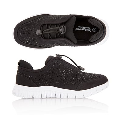 Cushion Walk Diamante Leisure Shoe