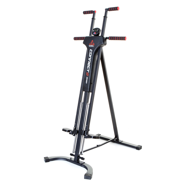 Connect2Sport Vertical Climber Total Body Workout with Built In Monitor No Colour