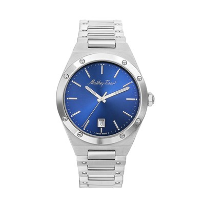 Mathey-Tissot Gent's Elisir Watch with Stainless Steel Bracelet
