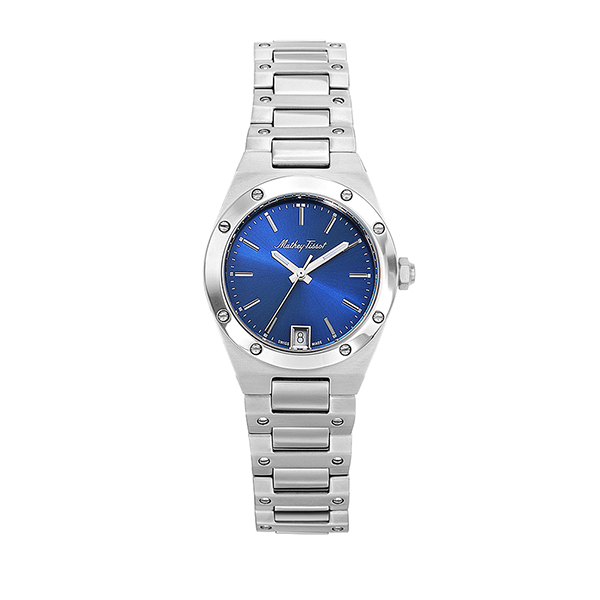 Mathey-Tissot Ladies' Elisir Watch with Stainless Steel Bracelet Blue