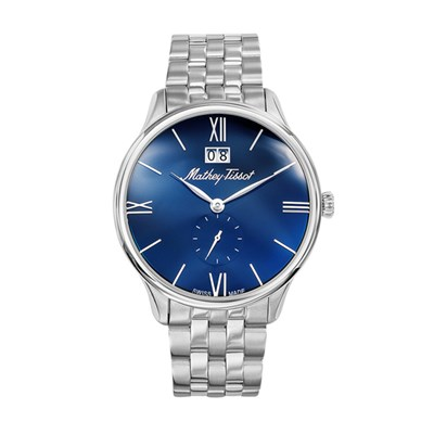Mathey-Tissot Gent's Edmond Watch with Stainless Steel Bracelet