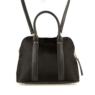 Lucy K Black Tote Bag