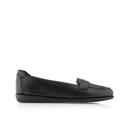 Scholl Phillis Soft Leather Moccasin Shoe