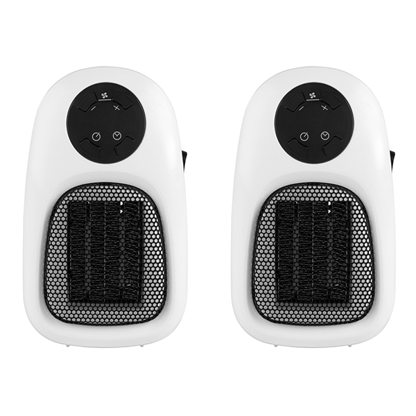 Beldray Handy Plug-In Heater 500W (Twin Pack) No Colour