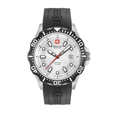 Swiss Military By Hanowa Gent's Patrol Watch with Silicone Strap