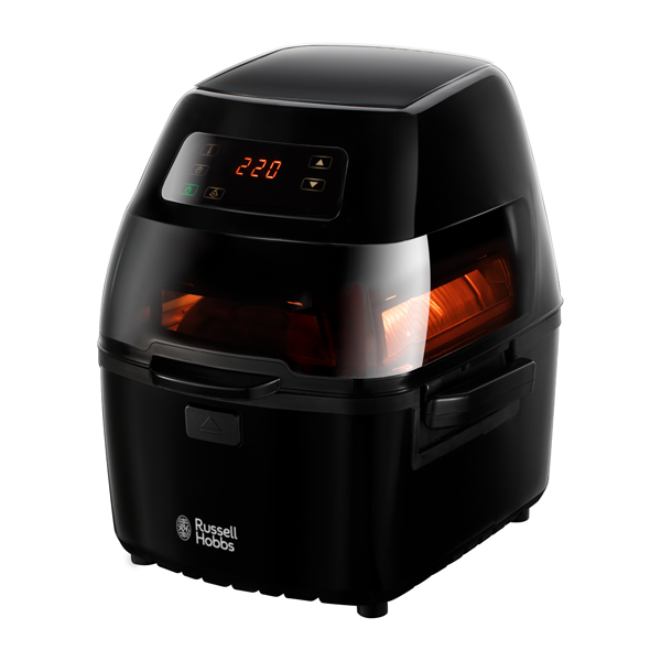 Russell Hobbs 22102 Cyclofry Air Fryer with Stainless Steel Accessories No Colour
