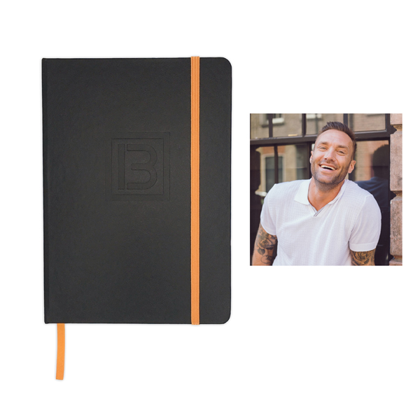 Best Me Life Journal by Calum Best Black