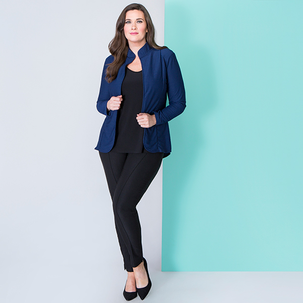 10% off Nvee Unlined Dip Hem Jacket
