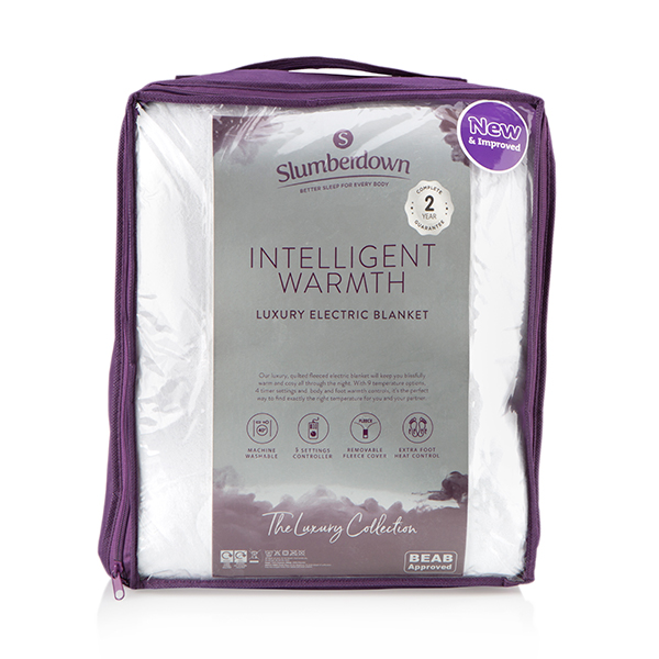 Slumberdown Intelligent Warmth Luxury Heated Underblanket  (Single) No Colour
