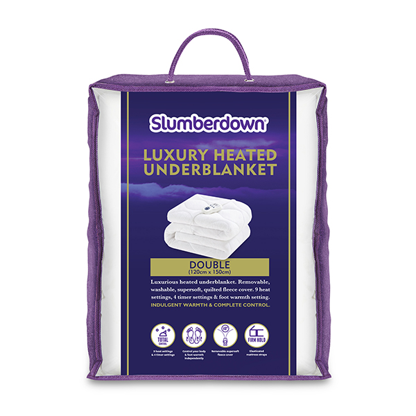 Slumberdown Luxury Heated Underblanket (Double) No Colour