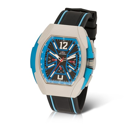 deLorean Gent's Limited Edition Automatic Blastoff Watch with Silicone Strap
