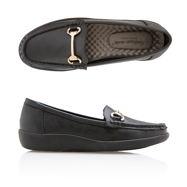 Cushion Walk Super Flex Loafer Black