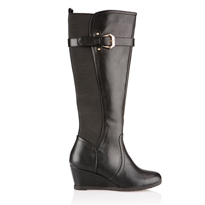 Cushion Walk Wedge Tall Boot