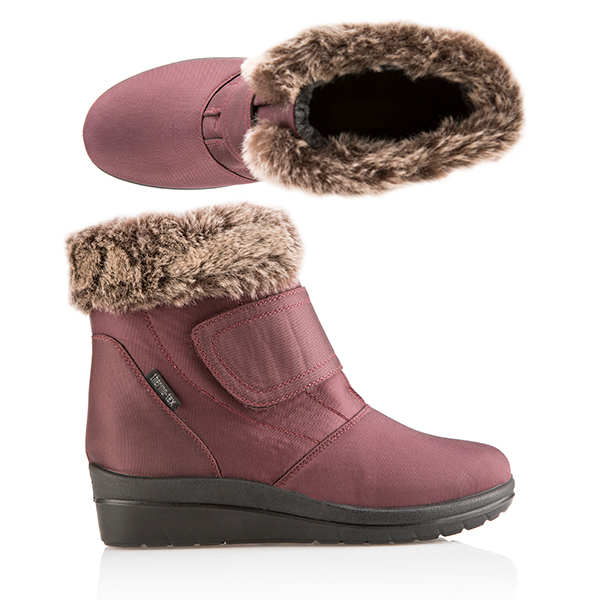 Cushion Walk Comfort All Weather Boot - Chocolate, Plum, Blue, Black Plum