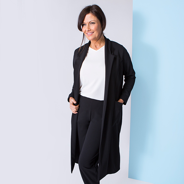 40% off Styled By Crepe Longline Jacket