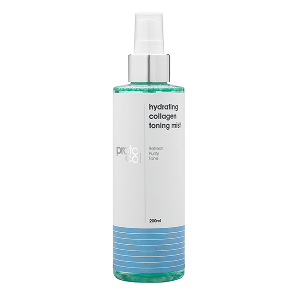 Proto-col Hydrating Collagen Toning Mist 200ml No Colour