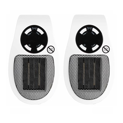 Beldray 450W Personal Heater Twin Pack