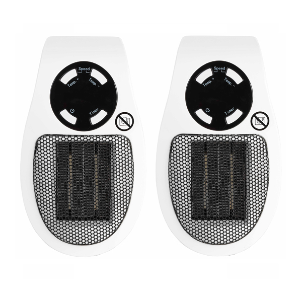 Beldray Personal Heater 450W (Twin Pack) No Colour