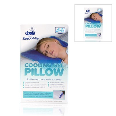 Sleep Genie Cooling Gel Pillow Twinpack