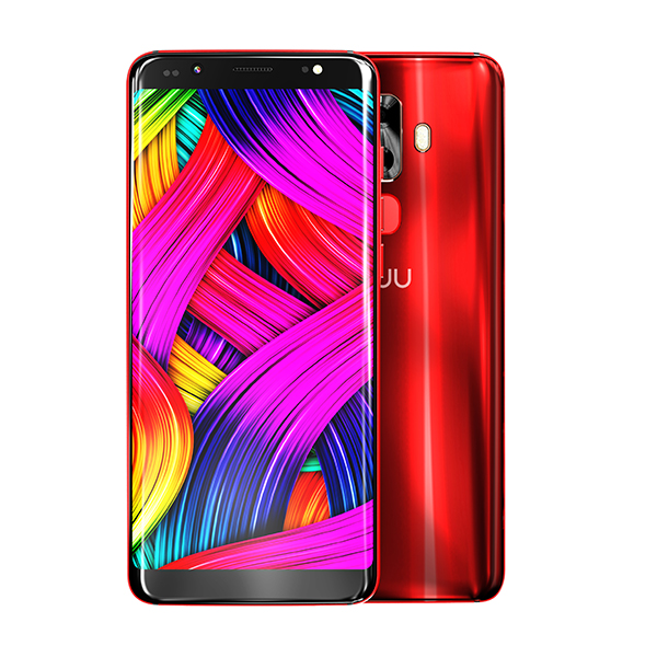 NUU G3 4G LTE Android 8 Smartphone with 5.7 inch HD Screen, 13MP Camera, 64GB Storage and 4GB RAM Red