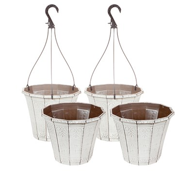 Callista Vintage Collection - 2 Pots & 2 Baskets