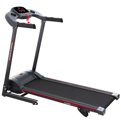 Body Sculpture Motorised Folding Treadmill with 10% Manual Incline