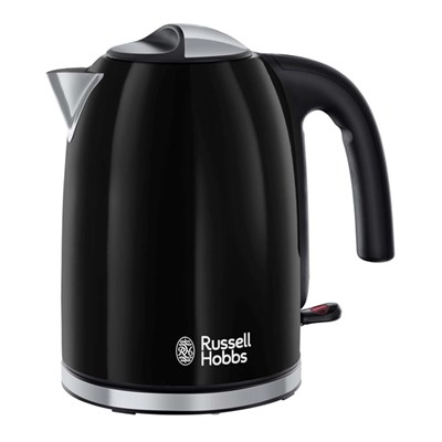 Russell Hobbs Colour Plus Black Kettle 3000W 1.7L