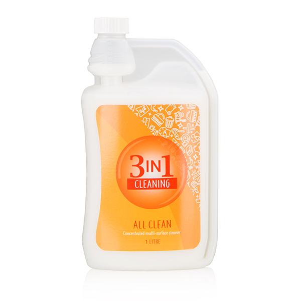 3 in 1 All Clean Concentrate 1L No Colour