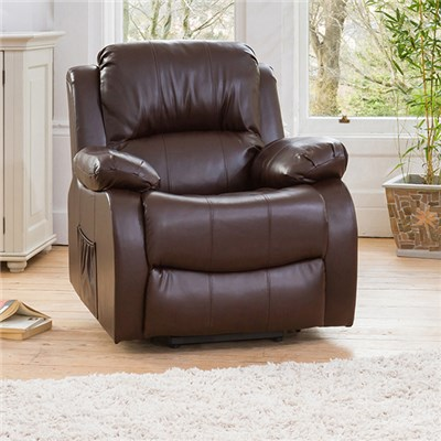 Oakham One Seater Bonded Leather Armchair