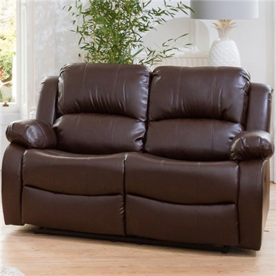 Oakham Two Seater Bonded Leather Sofa