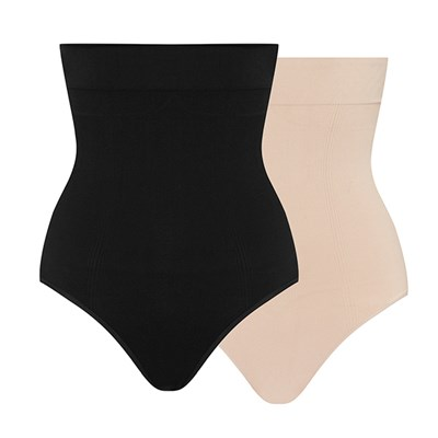 Bella Bodies High Waist Slimming Briefs (Twin Pack)