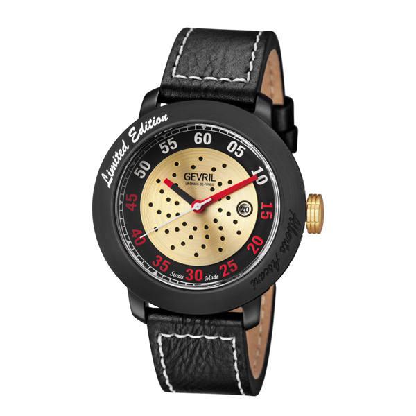 £300 off Gevril Alberto Ascari Automatic Ruben & Sons Movement Watch